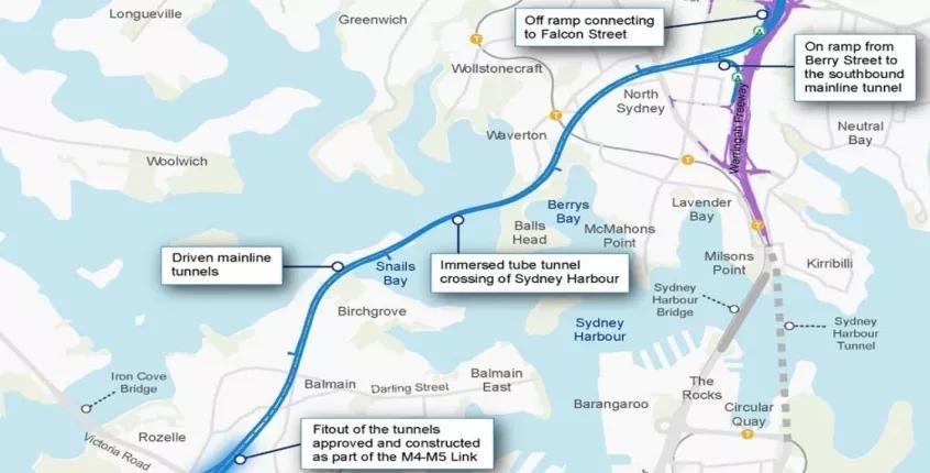 Bechtel, Jacobs, Laing O'Rourke shortlisted for Sydney's Western Harbour Tunnel