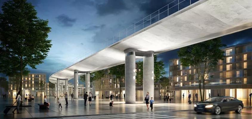 Vinci-led consortium to build 6.7km viaduct for Grand Paris Express
