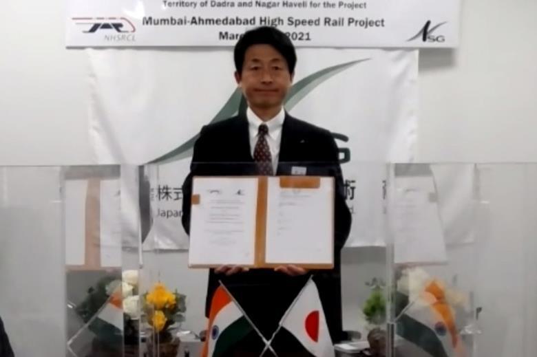 Indian high speed line track design MoU signed