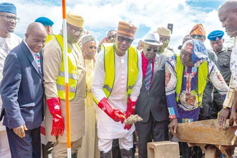 Ekiti Agro-Allied Cargo Airport construction begins, Ekiti State, Nigeria