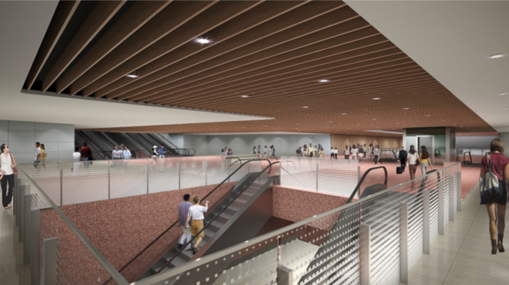 LTA Awards Civil Contract for Design and Construction of Pasir Ris Interchange Station and Tunnels f