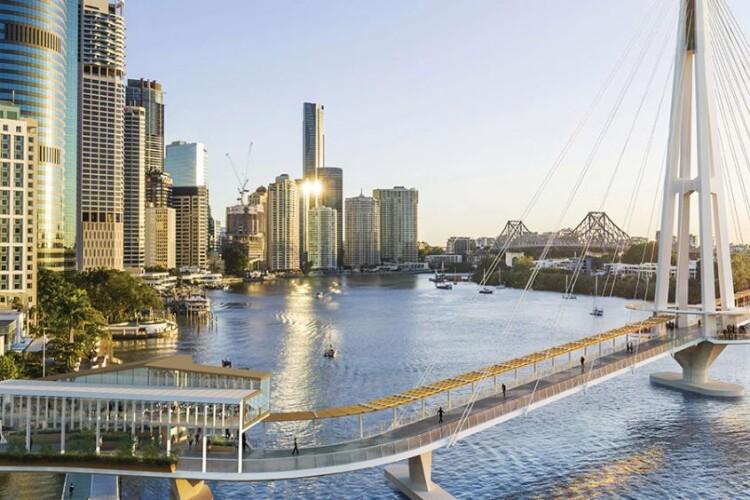 Besix team wins Brisbane cable-stayed bridge