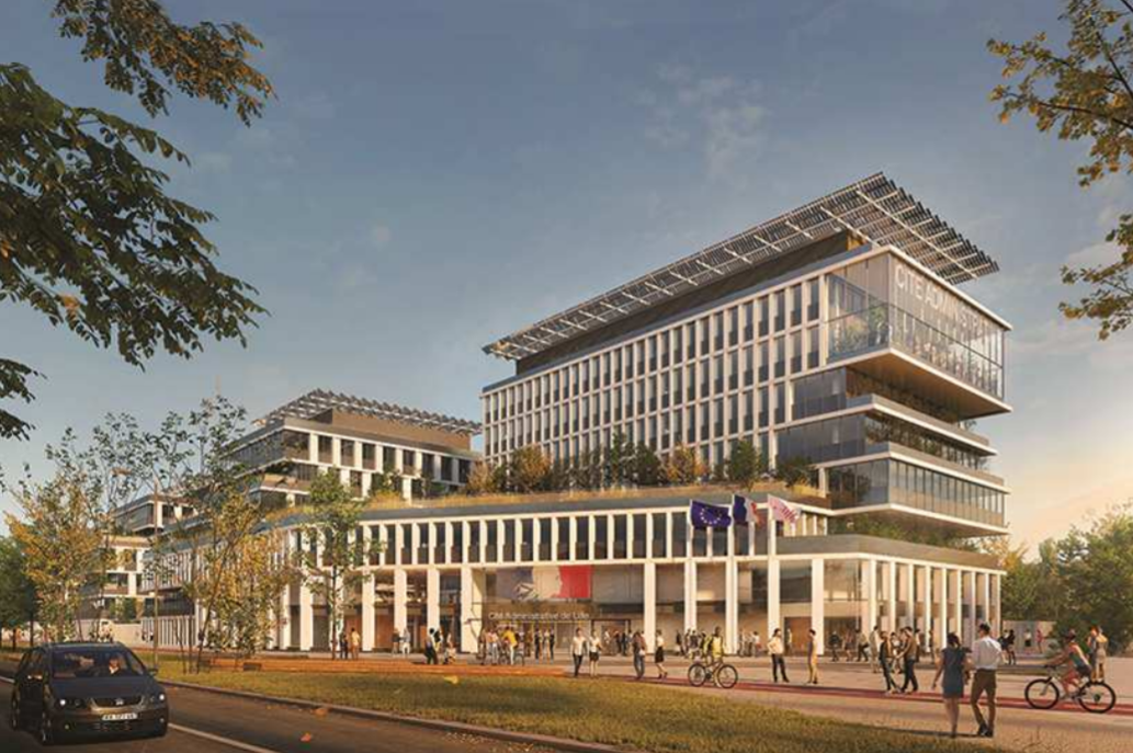 """THE CONSORTIUM LED BY BOUYGUES BÂTIMENT NORD-EST IS CHOSEN TO CONSTRUCT THE NEW """"CITÉ ADMINISTRATIVE"""" COMPLEX IN LILLE"""