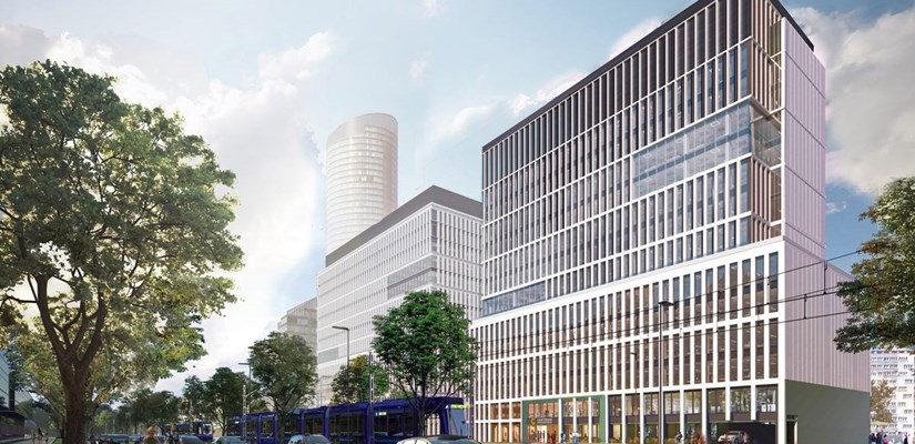 Skanska invests EUR 47M, about SEK 480M, in a new building in the office complex Centrum Południe in Wroclaw, Poland