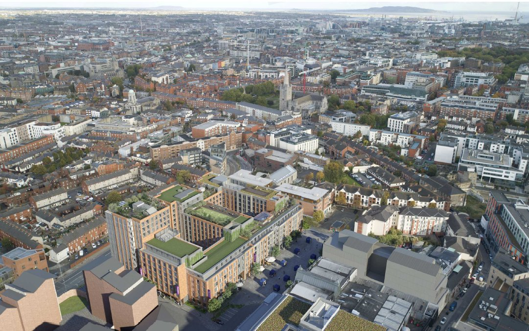 Bam to build hotel and apartments in Dublin's Newmarket Square