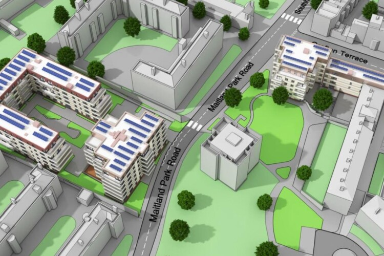 Bouygues starts on Camden homes