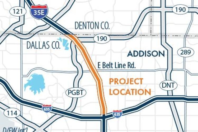 Fluor team wins $640m Dallas highway project
