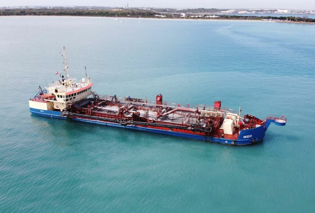 Geraldton dredging about to begin