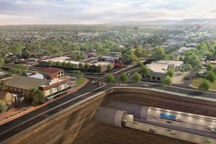 Enabling works begin for $9.9bn Australian road