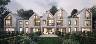 Present Made housing design. Design and image courtesy of Jo Cowen Architects