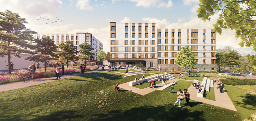 VINCI awarded contract for construction of student accommodation in Bristol, Great Britain